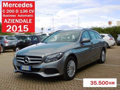 MERCEDES-BENZ C 200 d S.W. Business SUPER PREZZO !