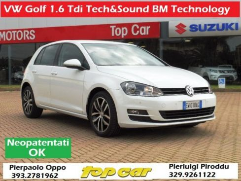 VOLKSWAGEN Golf 1.6 TDI  Tech&Sound BlueMotion AZIENDALE