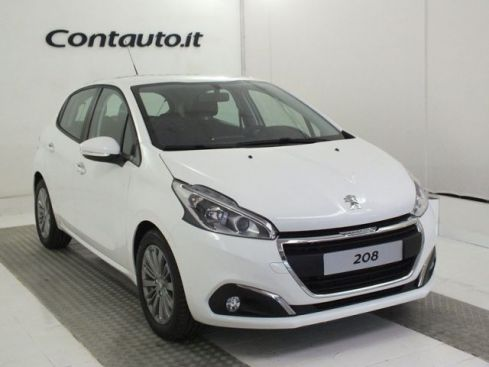 PEUGEOT 208 BlueHDi 75 Active 5p. Bianco Packsilver