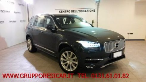 VOLVO XC90 D5 AWD Geartronic Inscription KM CERTIFICATI