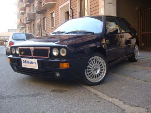 LANCIA Delta EVO 2 BLU LORD ONE OWNER FROM NEW!!