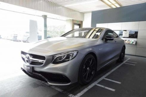 MERCEDES-BENZ S 63 AMG SEC 63 AMG 4MATIC
