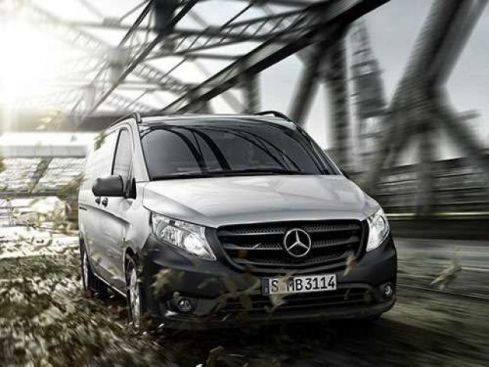 MERCEDES-BENZ Vito 119 CDI 4x4 Mixto Long