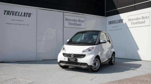 SMART ForTwo fortwo 1000 45 kW MHD coupé pure