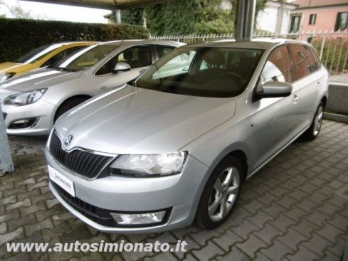SKODA Rapid Spaceback 1.6 TDI CR 90 CV Ambition