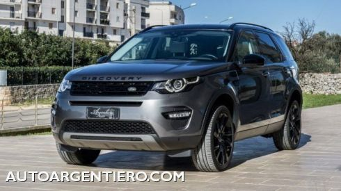 LAND ROVER Discovery Sport 2.0 TD4 150 CV HSE PELLE FARI LED BARRE CERCHI 19
