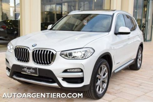BMW X3 xDrive20d X-LINE  TETTO APR.NAVI FULL LED 19'
