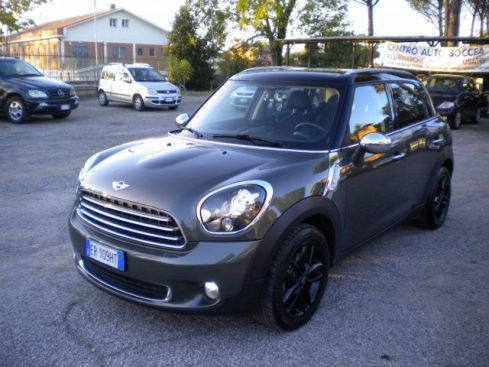 MINI Countryman Mini Cooper D Countryman XENON- CERCHI NERI