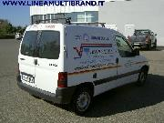 PEUGEOT PARTNER RANCH 170C 1.9 DIESEL CAT FURGONE Usata 2001