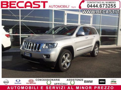JEEP Grand Cherokee 3.6 V6 Overland UNICO PROPRIETARIO