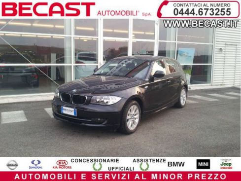 BMW 118 d 2.0 143CV cat 5 porte DPF UNICO PROPRIETARIO
