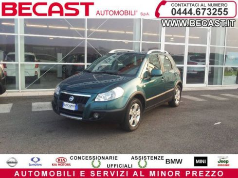FIAT Sedici 1.6 B/GPL 16V 4x4 Emotion