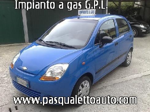 CHEVROLET Matiz 800  GPL UNICO PROPRIETARIO planet