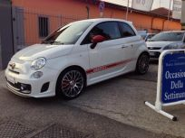 ABARTH 500 1.4 TURBO T-JET TURISMO NAVY Usata 2013