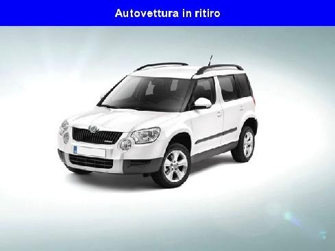 SKODA Yeti 1.6 TDI CR 105CV Adventur GreenLine