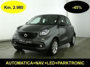 Smart ForFour 1.0-45% dal nuovo all. PASSION Aut. Km 2980-22JF01