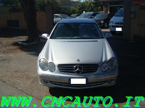 MERCEDES-BENZ CLK 270 CDI cat Avantgarde NAVI PELLE 6CD PDCFUL
