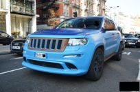 JEEP GRAND CHEROKEE 6.4 V8 SRT, EX LAPO ,PERSONALIZZATA,TETT used car 2012