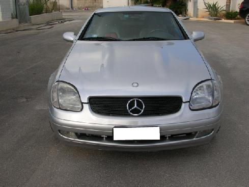 MERCEDES-BENZ SLK 200 cat Kompressor