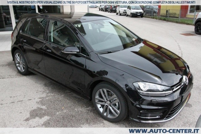 volkswagen golf 7 2 0 tdi 5p r line edition 40 anniversa nuova autosupermarket. Black Bedroom Furniture Sets. Home Design Ideas