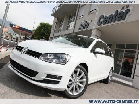 VOLKSWAGEN Golf Variant 7 2.0 TDI Highline 4MOTION 4X4 ORDINABIL