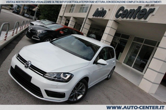 volkswagen golf 7 1 6 tdi r line edition 40 anniversario nuova autosupermarket. Black Bedroom Furniture Sets. Home Design Ideas
