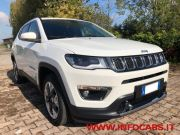 JEEP COMPASS 2.0 MULTIJET 140 CV 4WD LIMITED AUTOMATICO used car 2018
