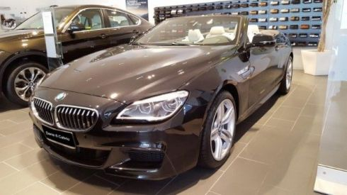 BMW 640 d xDrive Cabrio Msport Edition