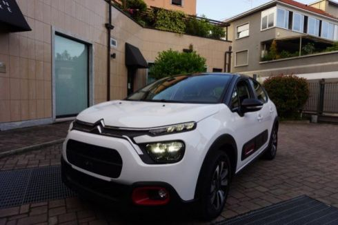 CITROEN C3 PureTech 110 S&S EAT6 Shine+Retrocam+Stockers RED
