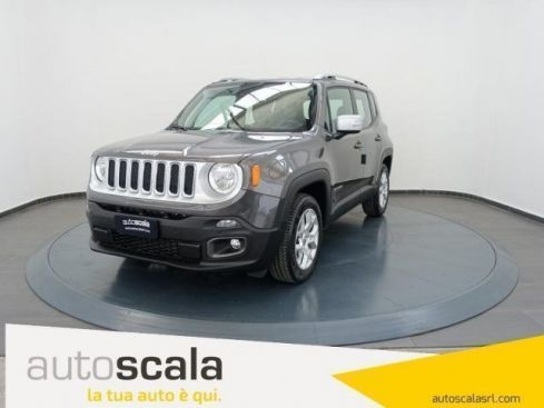 JEEP Renegade 1.6 Mjt 120 CV Limited #NAVY TOUCH 8,4
