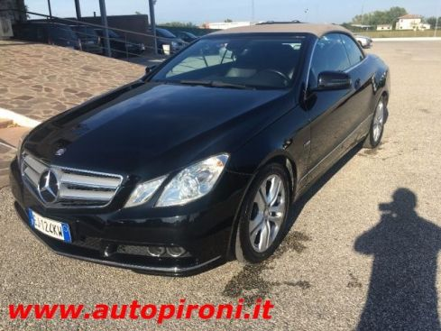 MERCEDES-BENZ E 220 CDI Cabrio BlueEFFICIENCY Executive