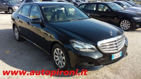MERCEDES-BENZ E 200 BlueTEC Executive