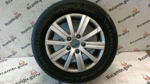 Cerchio in lega Wellington Volkswagen golf 6 - 5K0601025J