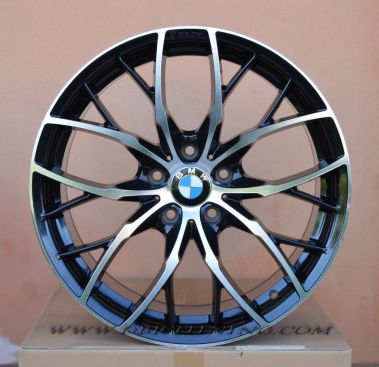 Cerchi in lega BMW KONZERT Black Polish 18 - KON8018512030BP